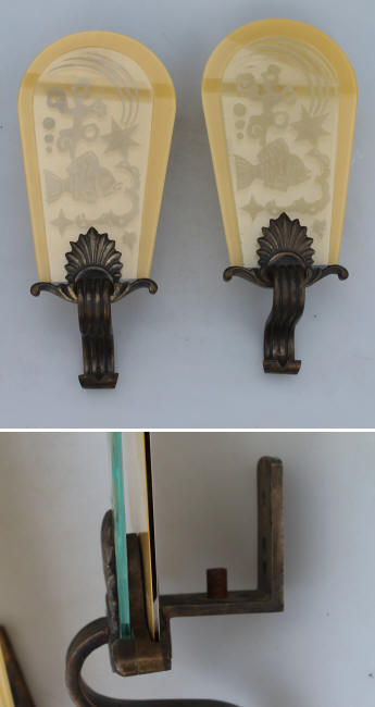 Art Deco Lampetter- DIY