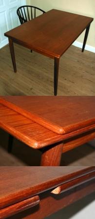 Leder du efter et smukt spisebord? Vi har flere af den viste type ...