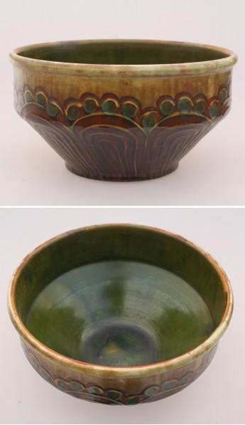 kähler vase sølv kop og kande
